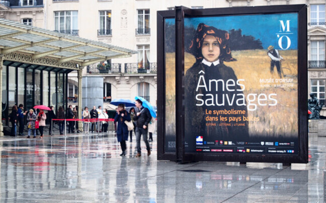 The exhibition was initially opened at the Musée d'Orsay in Paris.
