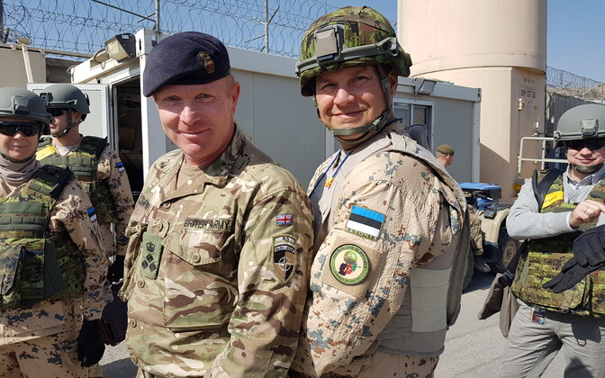 British and Estonian troops serving in Afghanistan. Photo is illustrative.