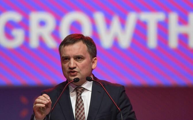 Poola justiitsminister Zbigniew Ziobro.