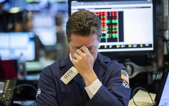 NYSE kaupleja 11. oktoobril.