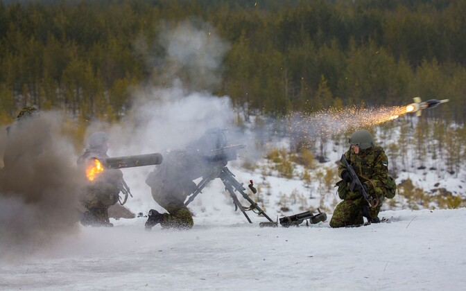 Conscripts testing antitank missiles. Photo is illustrative.