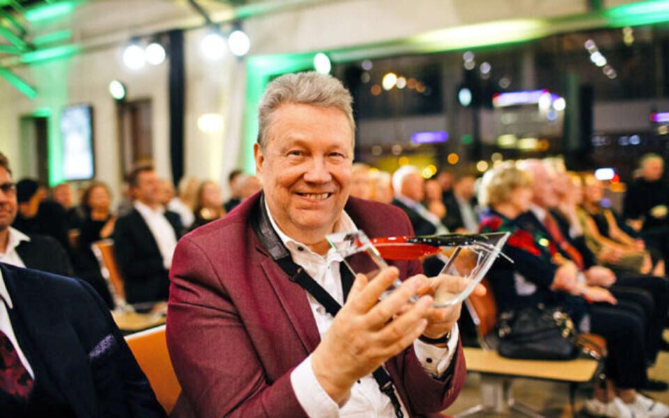 Vastne Kultuurkapitali preemia laureaat Lembit Saarsalu.