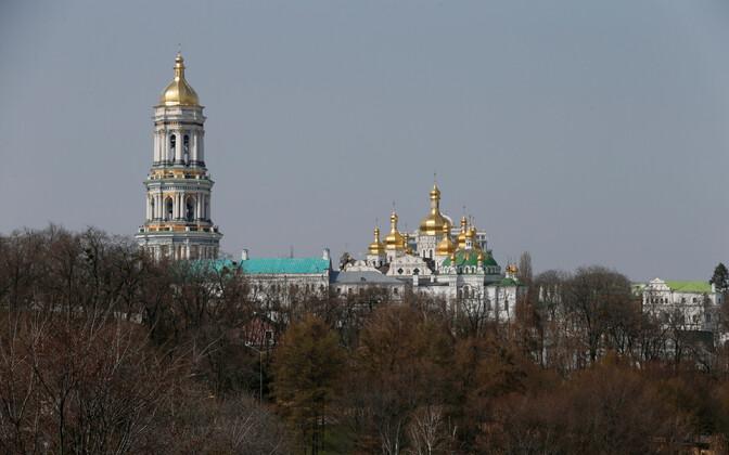 Kiievis asuv ajalooline Petšerski klooster, mis on Moskva patriarhaadi valduses.