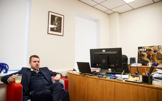 Justiitsminister Urmas Reinsalu soovib täpsustada ministrite ja kantslerite vastutusala.
