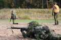 Logistikapataljoni taktikaliste laskeharjutuste laager.