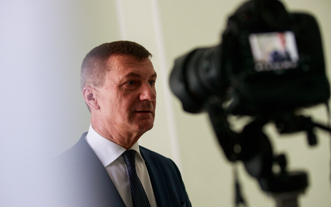 Vice-President of the European Commission Andrus Ansip (Reform).