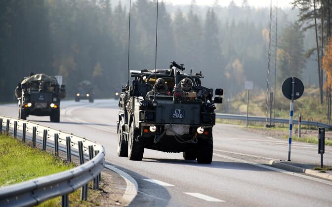 NATO riikide sõjaväemasinad teel Norrasse õppustele Trident Juncture.