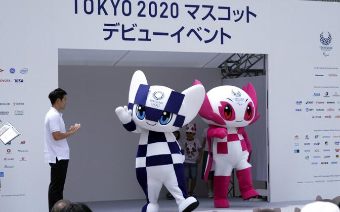 Tokyo olümpia ametlikud maskotid.