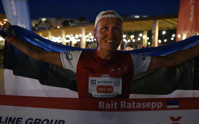 Rait Ratasepp 20-kordse ultratriatloni finišis