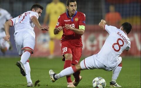 Rahvuste liiga mäng Armeenia - Gibraltar, Henrik Mkhitarjan