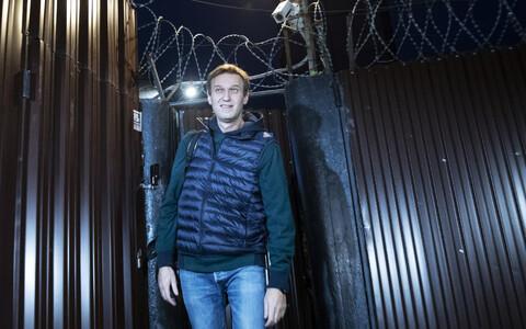 Алексей Навальный вышел на свободу.