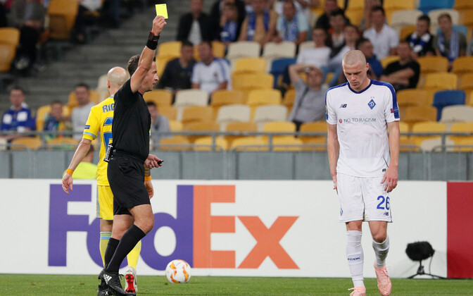Халис Эзкахья в этом году обслуживал матч Лиги Европы между киевским