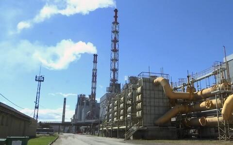 Завод в Кохтла-Ярве.