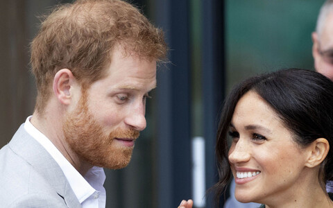 Prints Harry ja hertsoginna Meghan
