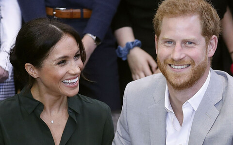Sussexi hertsoginna Meghan ja prints Harry