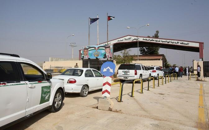 Jaber/Nasseri piiripunkt Jordaania poolel