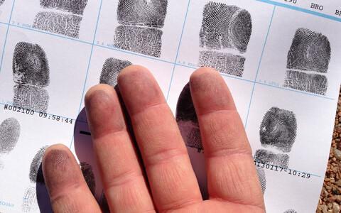 Sõrmejälje rasus peituva narkootilise aine kogus jääb mõne pikogrammi piirile.