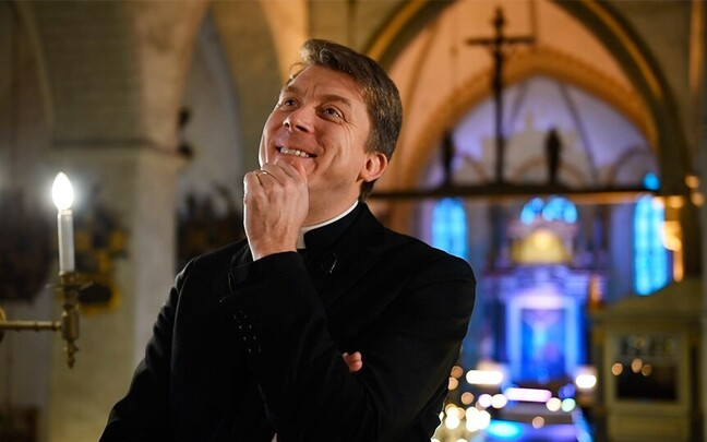 Архиепископ EELK Урмас Вийлма.