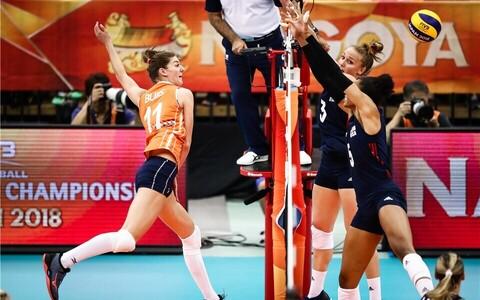 Naiste võrkpalli MM: Holland - USA