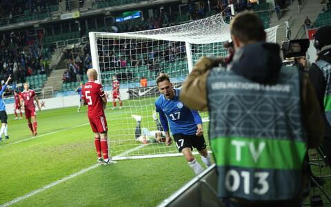 Сборная Эстонии сыграла вничью с венграми.