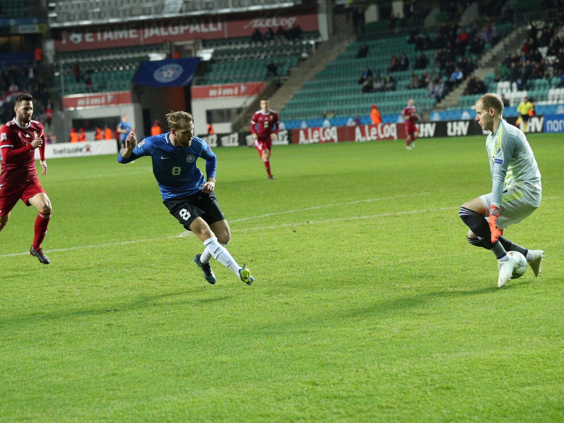 eb99639d3a2 VIDEO & FOTOD | Eesti lõi kolm väravat, aga jäi kolme punktita | Jalgpalli  Eesti koondis | ERR