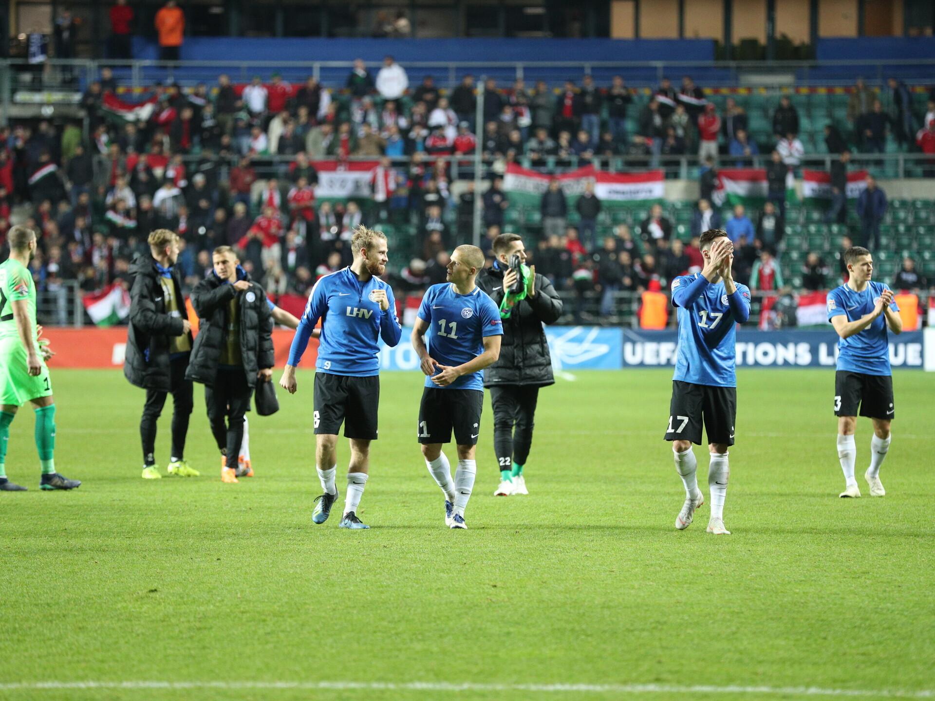 4e3fceb160a Selgus koondise koosseis mängudeks Ungari ja Kreekaga | Jalgpalli Eesti  koondis | ERR
