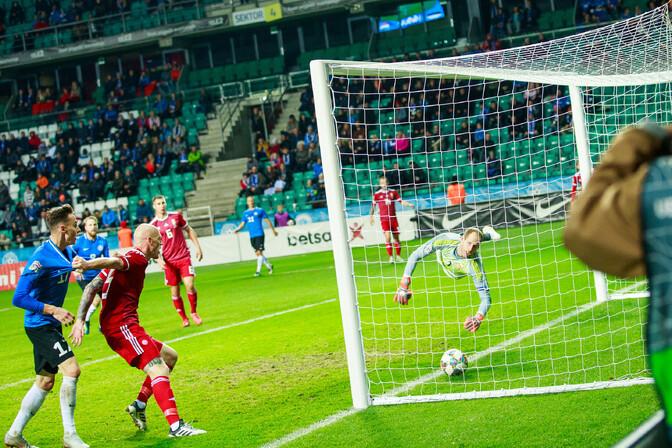 6a95809121e VIDEO & FOTOD | Eesti lõi kolm väravat, aga jäi kolme punktita ...