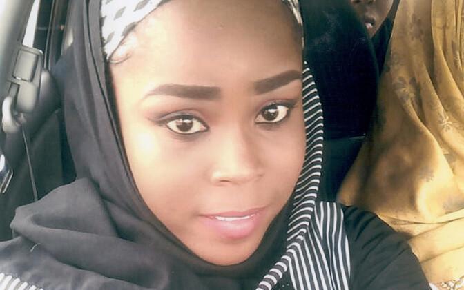 Nigeera islamiäärmuslaste poolt hukatud 24-aastane ämmaemand Hauwa Mohammed Liman.