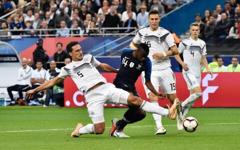 Rahvuste liiga: Prantsusmaa - Saksamaa