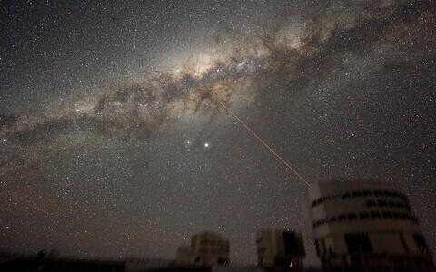 Öötaevas Tšiilis asuva Paranali observatooriumi kohal.