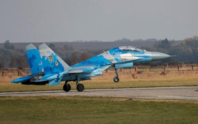 Ukraina õhujõudude Su-27 õppusel Clear Sky 2018.