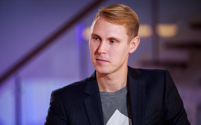 Raimond Kaljulaid on ERR's Otse uudistemajast. 17 October 2018.