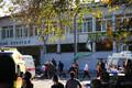Sündmuskoht Kertši linnas polütehnilise kolledži juures.