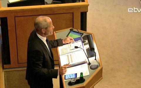 Министр финансов Тоомас Тынисте.