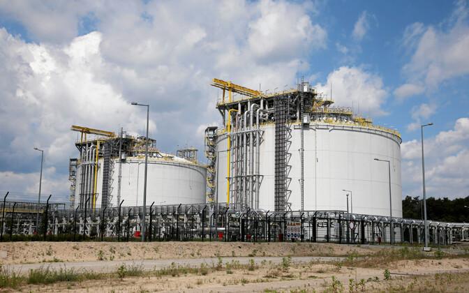 LNG terminal Poolas Swinoujscies.