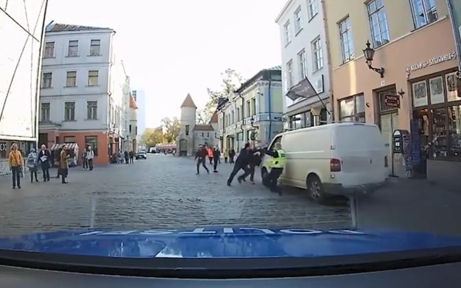 Kuvatõmmis politsei Facebooki videost