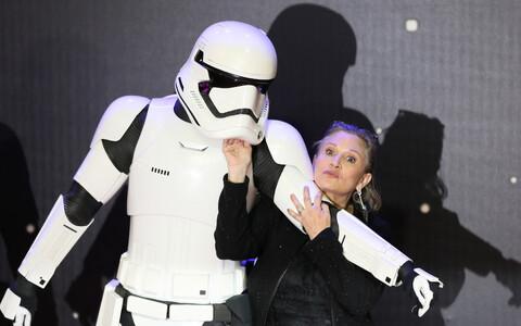 Star Warsi täht Carrie Fisheril pole tulevikus filmides kaasa löömisest ilmselt pääsu.