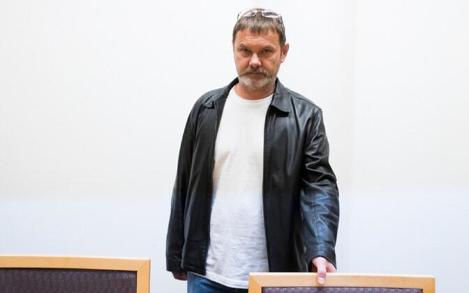 Mihhail Botškarjov 4. oktoobril Oslo kohtusaalis.