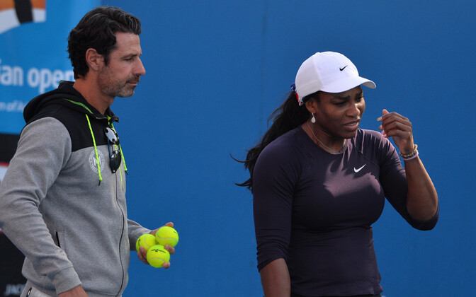 Serena Williams ja Patrick Mouratoglou