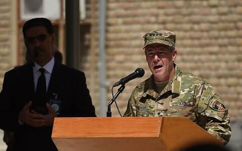 Скотт Миллер возглавил силы США и НАТО в Афганистане 2 сентября 2018 года.