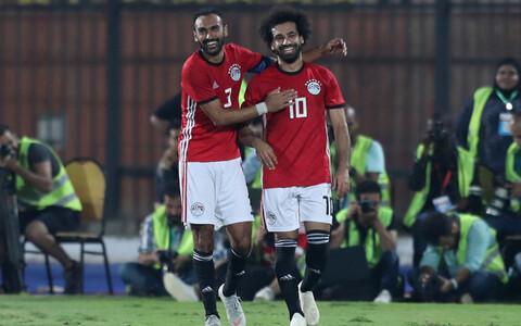 Ahmed Elmohamady ja Mohamed Salah