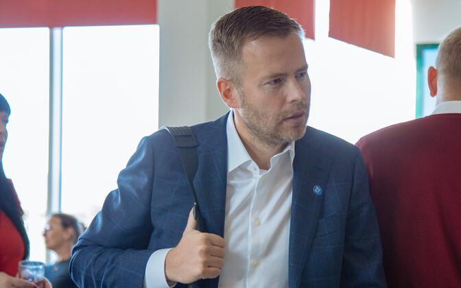 Minister of Entrepreneurship and Information Technology Rene Tammist (SDE).