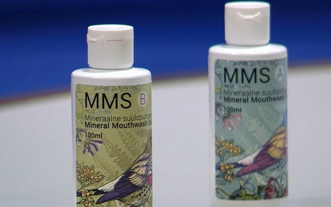 MMS is sold as mouthwash.