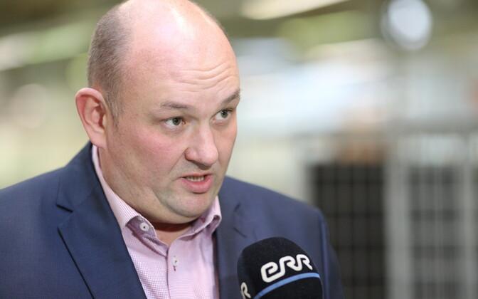 Eesti Post supervisory board chair Ansi Arumeel.