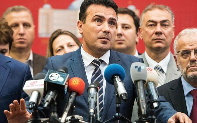 Премьер-министр Македонии Зоран Заев.