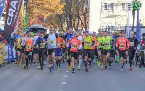 44. Saaremaa kolme päeva jooksu start kolmandal päeval