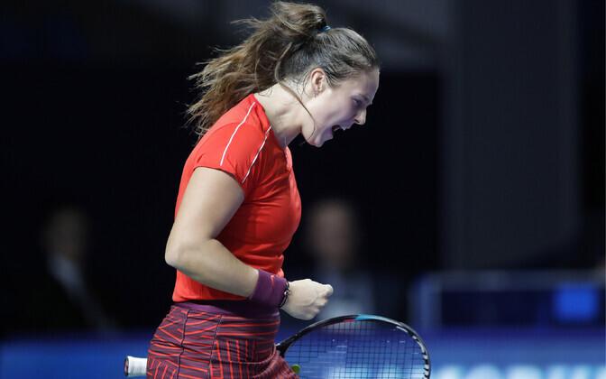 Daria Kasatkina võitis esimese WTA turniiri kodumaal