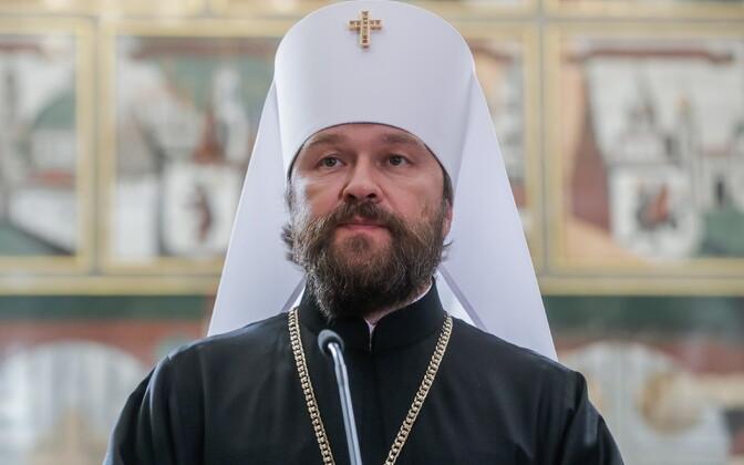 Председатель Отдела внешних церковных связей Московского патриархата митрополит Иларион.