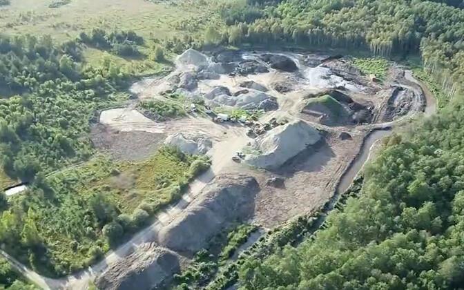 Территория бывшего асфальтового завода