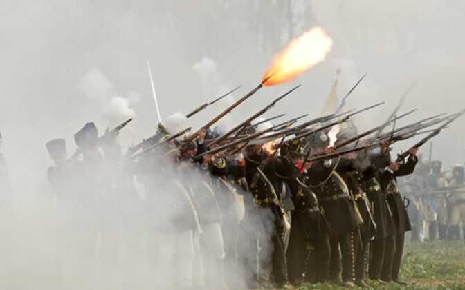 Leipzigi lahingu etendus